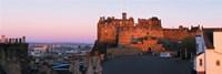 Castle in a city, Edinburgh Castle, Edinburgh, Scotland Fine-Art Print