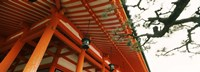 Low angle view of a shrine, Heian Jingu Shrine, Kyoto, Kyoto Prefecture, Kinki Region, Honshu, Japan Fine-Art Print