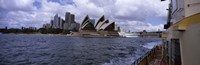 Buildings at the waterfront, Sydney Opera House, Sydney Harbor, Sydney, New South Wales, Australia Fine-Art Print