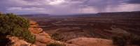 Clouds over an arid landscape, Canyonlands National Park, San Juan County, Utah Fine-Art Print