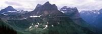 Mountain range, US Glacier National Park, Montana, USA Fine-Art Print