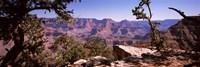 Mountain range, South Rim, Grand Canyon National Park, Arizona Fine-Art Print
