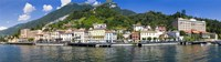 Town at the waterfront, Tremezzo, Lake Como, Como, Lombardy, Italy Fine-Art Print