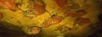 Paleolithic paintings, Altamira Cave, Santillana del mar, Cantabria, Spain Fine-Art Print