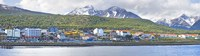 Town at waterfront, Ushuaia, Tierra Del Fuego, Argentina Fine-Art Print