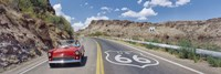 Vintage car on Route 66, Arizona Fine-Art Print