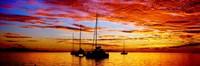 Tahiti Sunset, Society Islands, French Polynesia Fine-Art Print