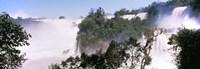 Floodwaters at Iguacu Falls, Argentina-Brazil Border Fine-Art Print