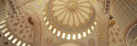 Interiors of a Blue Mosque, Istanbul, Turkey Fine-Art Print