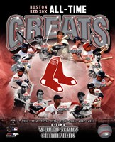 Boston Red Sox All Time Greats Composite Fine-Art Print