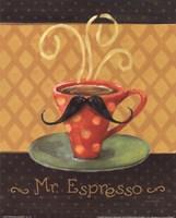 Cafe Moustache III Fine-Art Print