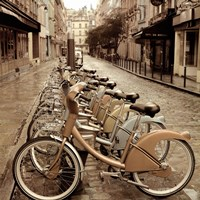 City Street Ride Fine-Art Print