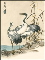 Oriental Crane II Fine-Art Print