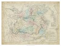Map of China Fine-Art Print