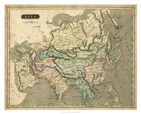 Thomson's Map of Asia Fine-Art Print