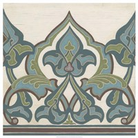 Non-Embellished Persian Frieze I Fine-Art Print