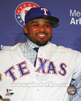 Prince Fielder 2013 Press Conference Fine-Art Print