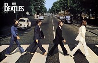 The Beatles - Abbey Road Wall Poster