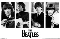 The Beatles - Portraits Wall Poster