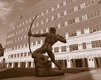 The Archer, University Of California, Los Angeles, California, USA Fine-Art Print