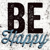 Be Happy Fine-Art Print