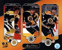 Bobby Orr, Ray Bourque, & Zdeno Chara Legacy Collection Fine-Art Print