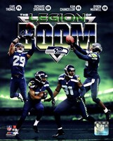 Seattle Seahawks The Legion of Boom Composite Fine-Art Print