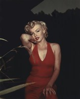 Marilyn Monroe 1954 Red Dress Fine-Art Print