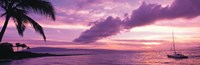 Sunset Kapala Bay Maui HI USA Fine-Art Print