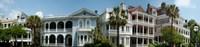 Houses along Battery Street, Charleston, South Carolina Fine-Art Print