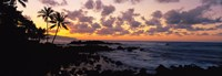 Sunset North Shore, Oahu, Hawaii Fine-Art Print