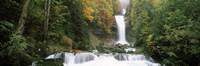 Giessbach Falls on Lake Brienz, Bernese Oberland, Berne Canton, Switzerland Fine-Art Print