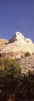Low angle view of the Mt Rushmore National Monument, South Dakota, USA Fine-Art Print
