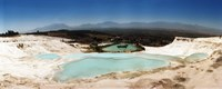 Travetine Pool and Hot Springs, Pamukkale, Denizli Province, Turkey Fine-Art Print
