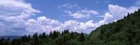 Clouds over mountains, Cherokee, Blue Ridge Parkway, North Carolina, USA Fine-Art Print