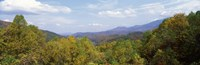 View from River Road, Great Smoky Mountains National Park, North Carolina, Tennessee, USA Fine-Art Print
