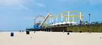 Pacific park, Santa Monica Pier, Santa Monica, Los Angeles County, California, USA Fine-Art Print