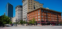 Buildings in a downtown district, Salt Lake City, Utah Fine-Art Print