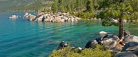 Boulders at Sand Harbor, Lake Tahoe, Nevada, USA Fine-Art Print