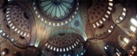 Panoramic Images of a Blue Mosque, Istanbul, Turkey Fine-Art Print