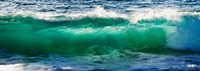 Wave splashing on the beach, Todos Santos, Baja California Sur, Mexico Fine-Art Print