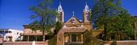 Facade of a church, San Felipe de Neri Church, Old Town, Albuquerque, New Mexico, USA Fine-Art Print