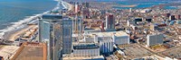 Aerial view of a city, Atlantic City, New Jersey, USA Fine-Art Print