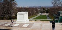 Tomb of a soldier in a cemetery, Arlington National Cemetery, Arlington, Virginia, USA Fine-Art Print