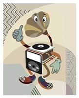 Retro Music Playlist I Fine-Art Print