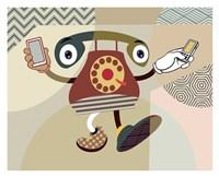 Retro Telecom II Fine-Art Print