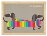 Mod Rainbow Dogs Fine-Art Print