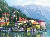Reflections of Lake Como Fine-Art Print