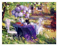 Lilac Tea Party Fine-Art Print