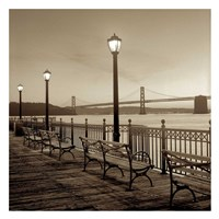 San Francisco Bay Bridge at Dusk Fine-Art Print